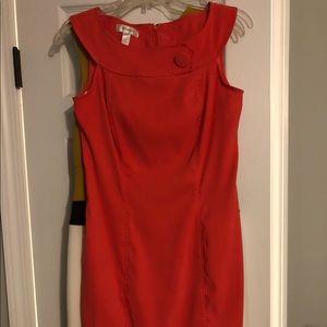 Dress Barn Coral dress.